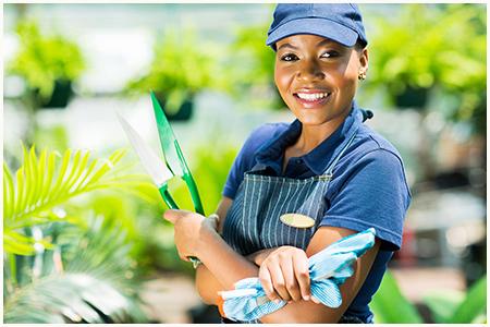 Faça seu orçamento para serviços de paisagismo e jardinagem.